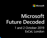 Speaking & Being Interviewed at Microsoft Future Decoded 2019